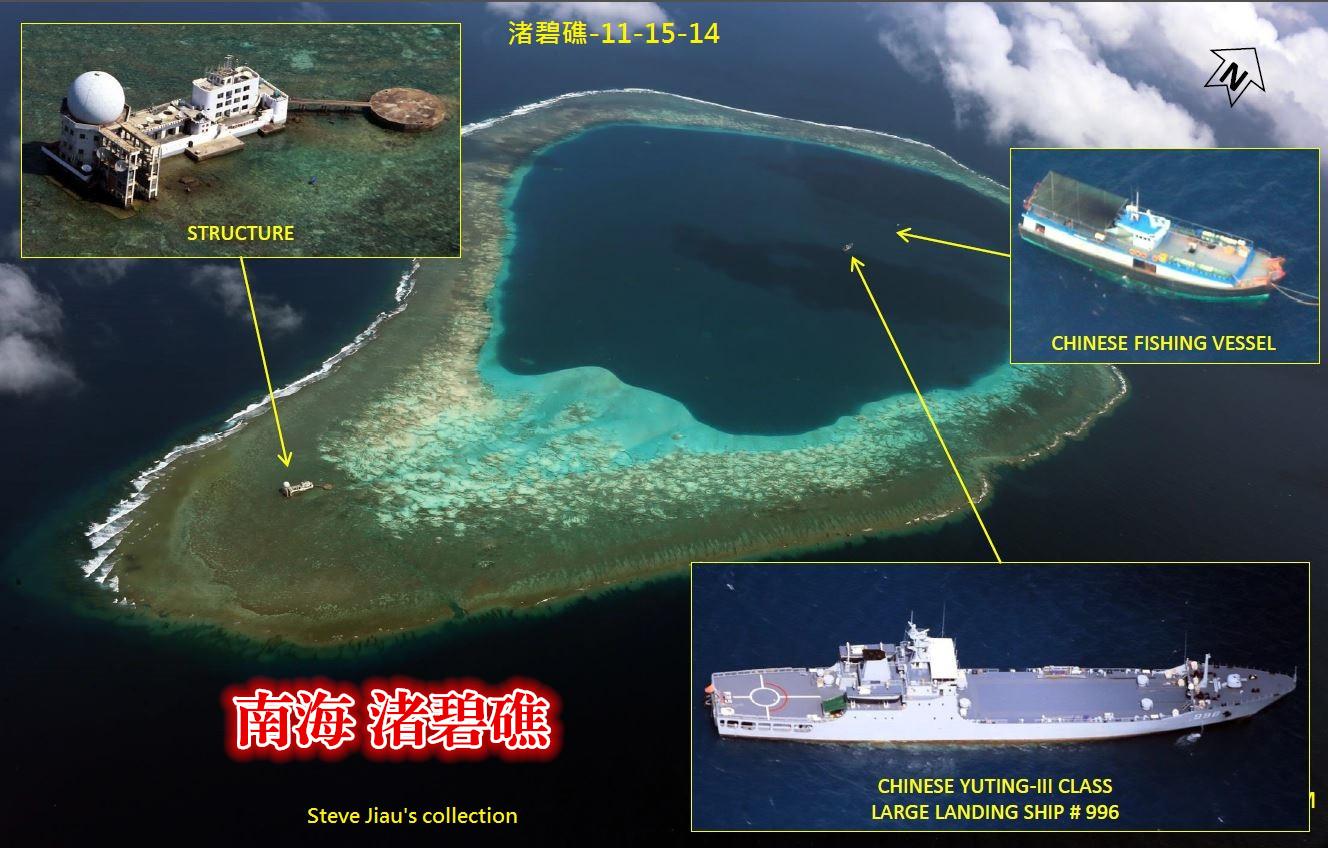 新闻 军事      军事专家雷泽先生认为,   中国在南海的岛礁扩建工程