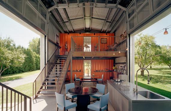 23 出乎意料由貨櫃改造的華麗家園