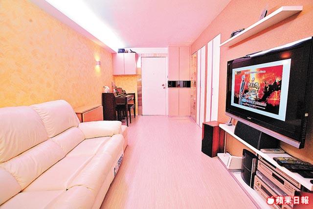 370呎公屋 彩雲邨裝修 5人藏「嬌」改3間房
