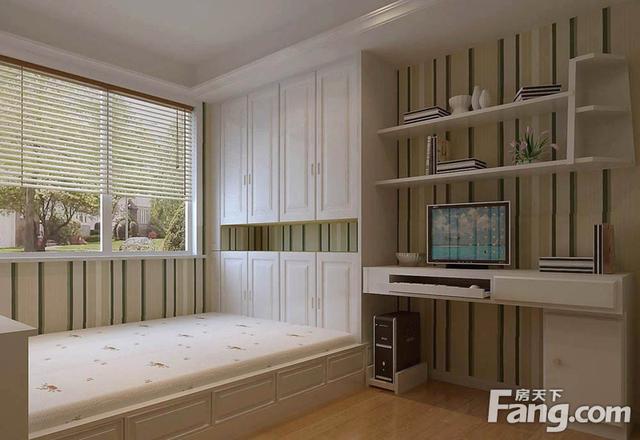 小户型儿童房榻榻米卧室 2016儿童房装修效果图大全,为您的孩子打造一