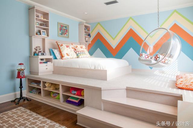 60款兒童房設計圖,收藏備用吧!