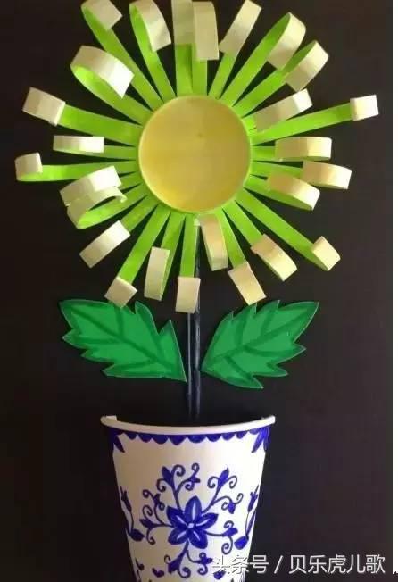 一次性纸杯手工创意制作 小小纸杯,大用处,家长与小朋友一起作的杰作