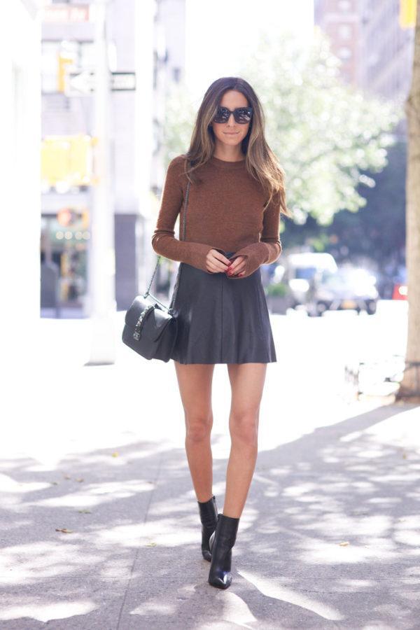 迷你裙装:可爱的方式炫耀您的双腿