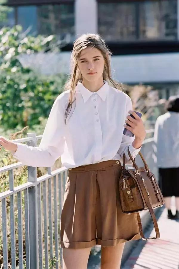 2017白襯衫流行這麼穿,時髦爆棚!