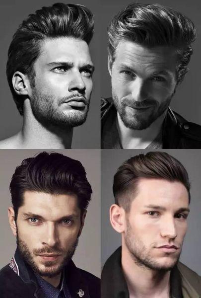 男士髮型大全,新年可以換個新髮型