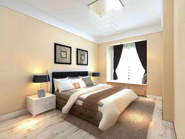 舒適的臥室設計裝修,太美了,太舒適了