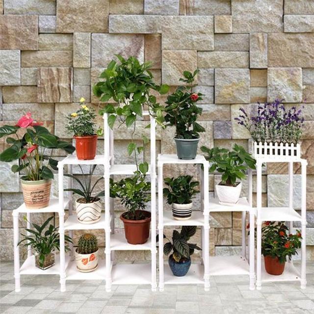 這麼漂亮的陽台花架,誰不想要一個!