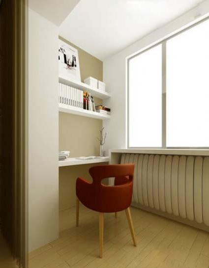 把陽台改成書房要怎麼做?