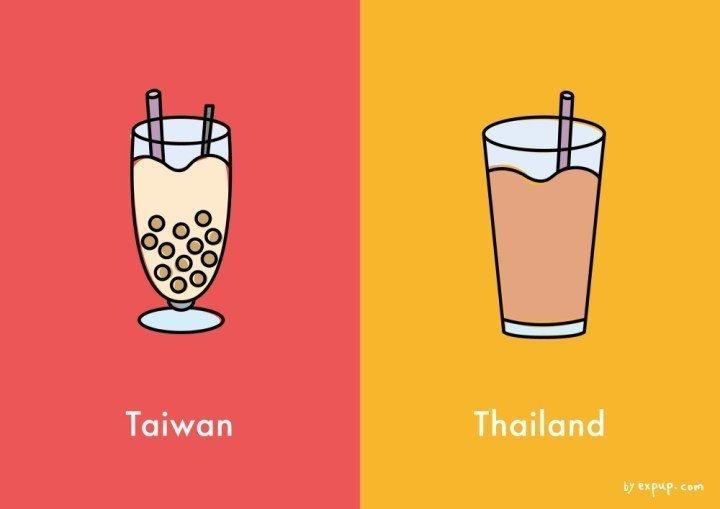 台灣和泰國英文發音相近常讓人誤以為來自泰國,但看完以下 10 張「文化差異圖」後就能瞬間秒懂兩者的不同!