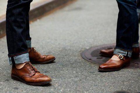 型到核爆! 捲褲腳都有學問! 【型男學分】捲出腿長感,牛仔褲的褲管翻摺教學!