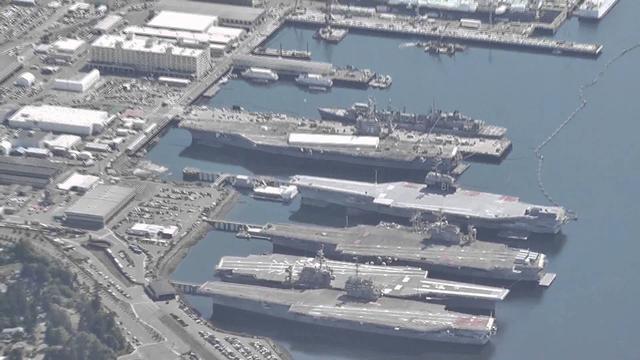 這些航母讓全球海軍汗顏:美國封存艦隊中的大佬
