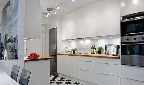 推薦兩個完美的開放式廚房案例