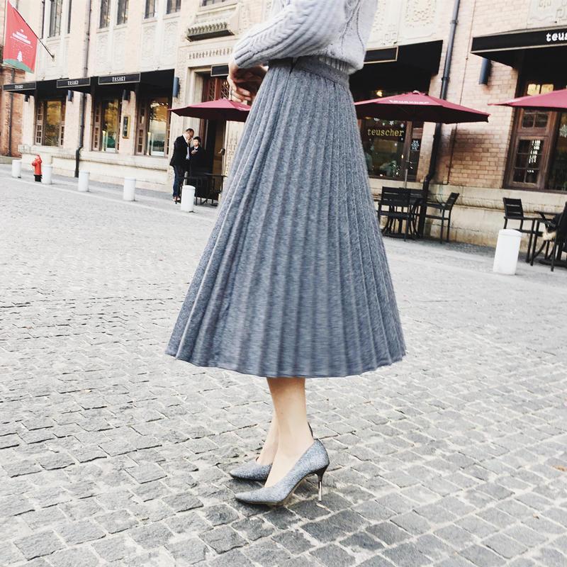 【2016最流行裙子穿法】連身裙可以收起來了!初一到初五,天天換不同裙子去拜年啦!