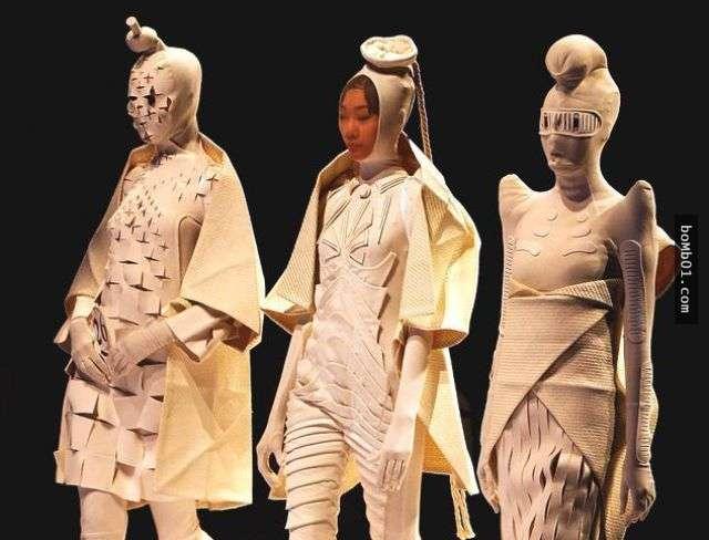 27個讓人確定「自己這輩子永遠不會懂時尚」的超前衛服裝設計。