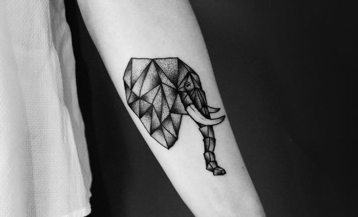 【紋身】今日紋身特輯:50個集合簡約,時尚,潮流,有型,藝術的幾何圖形GEOMETRIC TATTOO