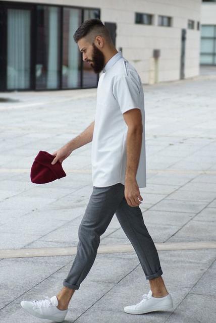 誰說只能上班穿?一件「白襯衫」變化出3大日常穿搭法!