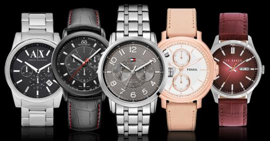 為什麼手錶廣告照片的指針都那麼巧指在「10︰10」,一定要這樣才能賣得好啊!