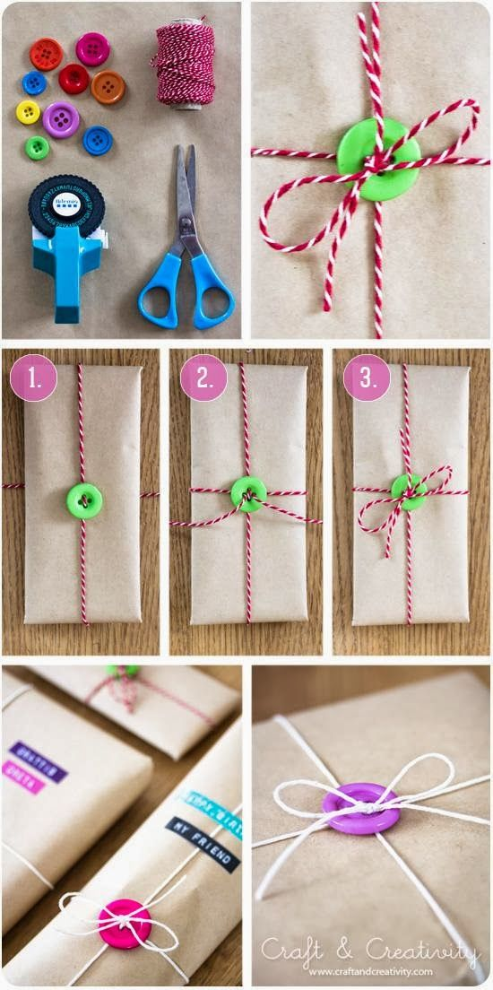 10個簡單又漂亮的禮盒包裝創意!