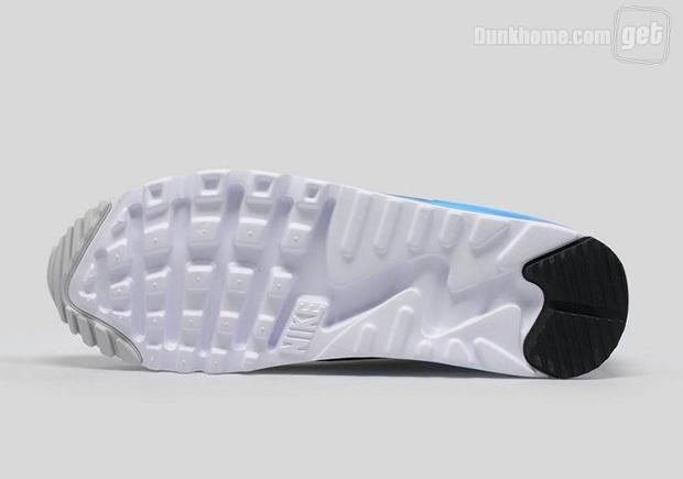 更新啦!Nike Air Max 90「LASER BLUE」迎來全新版本
