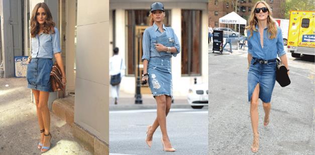 牛仔裙最強穿搭攻略! 5招教你穿出今夏慵懶時尚感~!