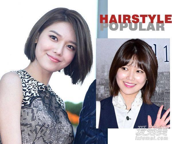 2016年真是短髮年 好多韓國明星都剪了!