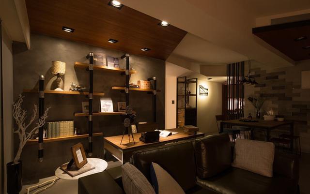如何設計開放式書房? 有沒有高顏值的開放式書房案例?
