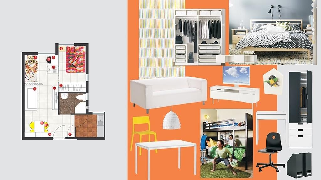 IKEA公屋大改造 客廳睡房傢俬盛惠6,000元