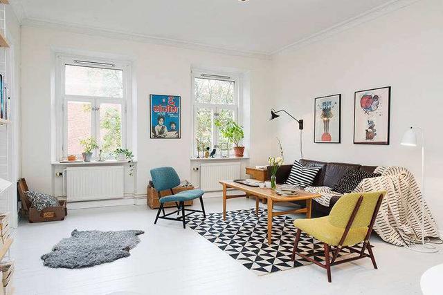 最愛北歐風素雅迷人的客廳佈置