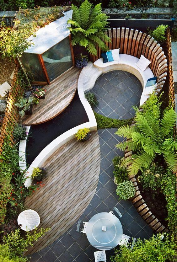 自己如何設計自己的小花園