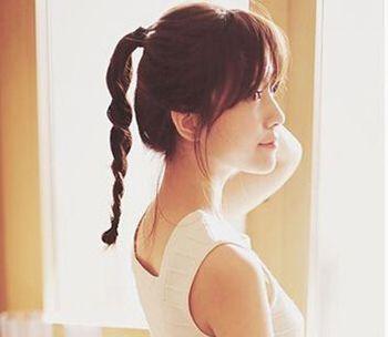 10款美少女適合的活力扎發,彰顯活潑開朗的髮型!