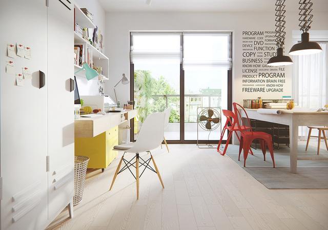 宜家風格家居設計簡潔大氣