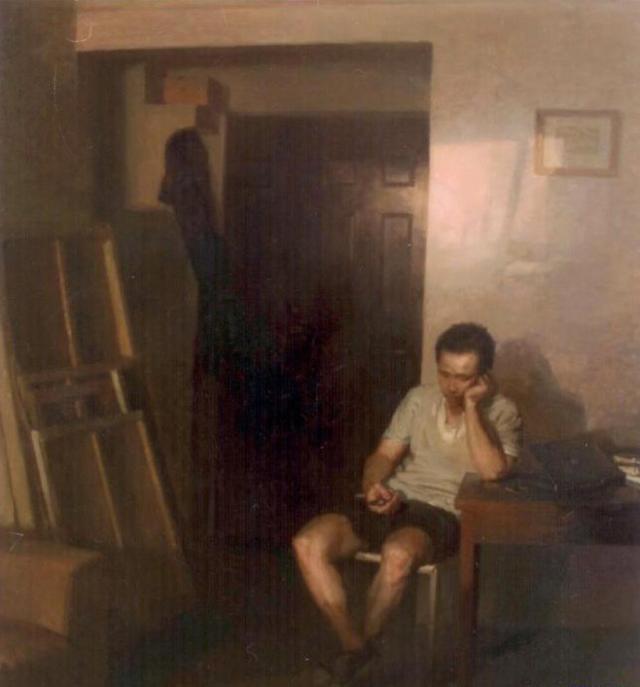 一組油畫大展的作品,這些作品都很好,你最喜歡哪一幅?