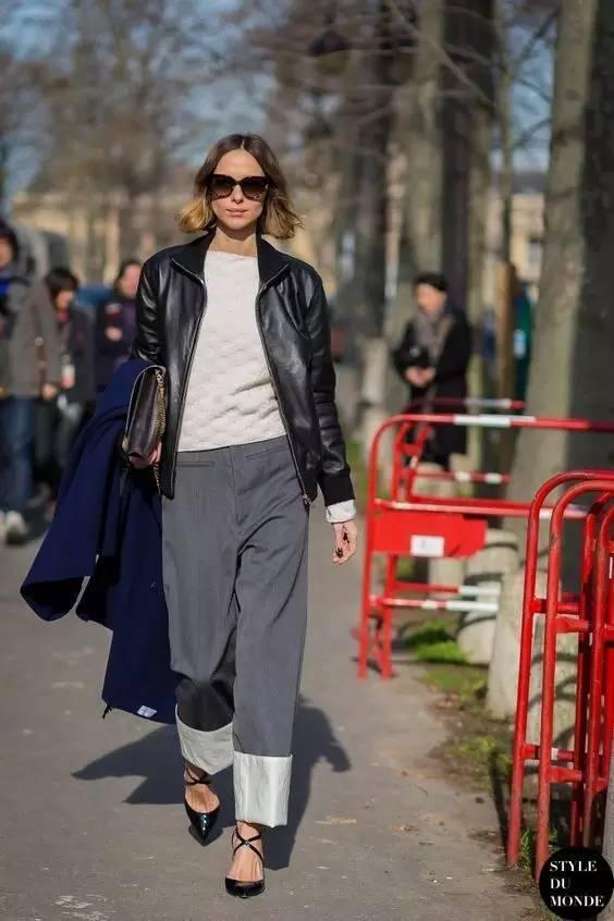 帥氣的經典皮夾克也能穿出優雅,六種搭法讓你這個春天注定不凡!