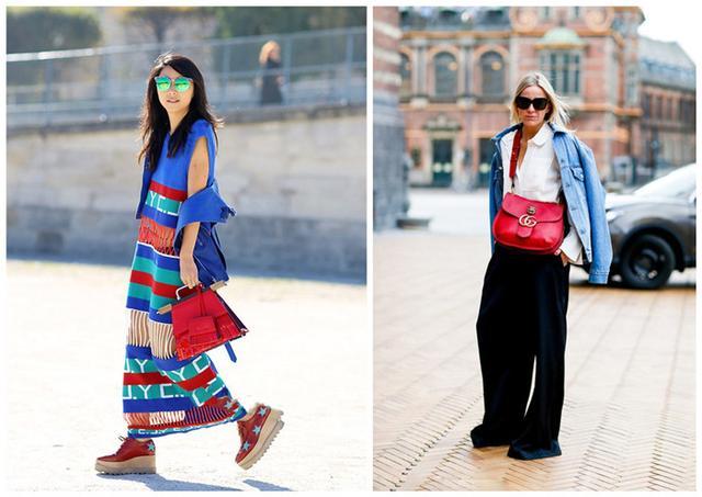 集齊這三個顏色包包,夏天妥了