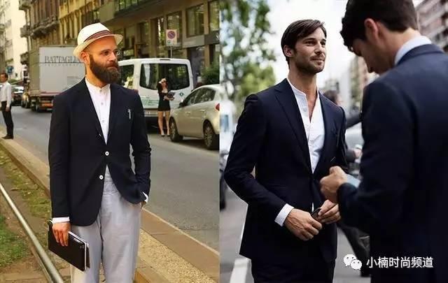 型男穿搭:夏季穿它帥一點,個性時尚的無領襯衫4種穿搭Tips