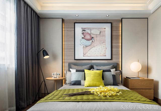 不放婚紗照的床頭高級多了! 床頭背景牆如何設計裝修? 怎麼選材?
