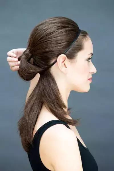 超簡單髮帶造型,手把手教會你!