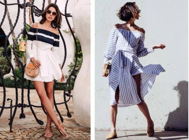 襯衫裙+平底鞋,才是夏季最潮搭!