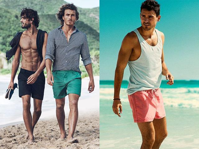 2017盛夏,男士海灘最型穿搭指南