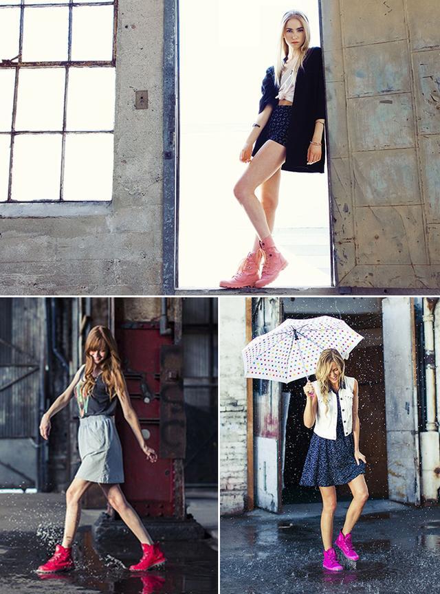下雨天如何穿的時髦不狼狽,妹子們來看看怎麼搭配