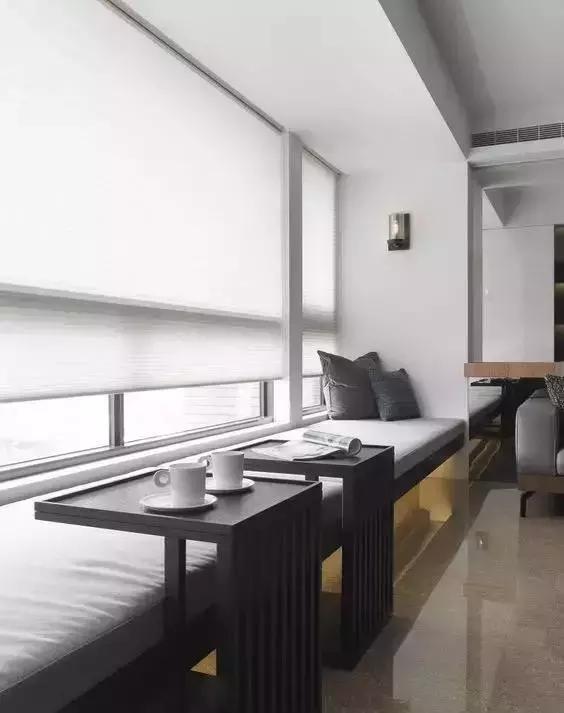 設計賞析:越是小戶型,越要費心打造的小茶室!