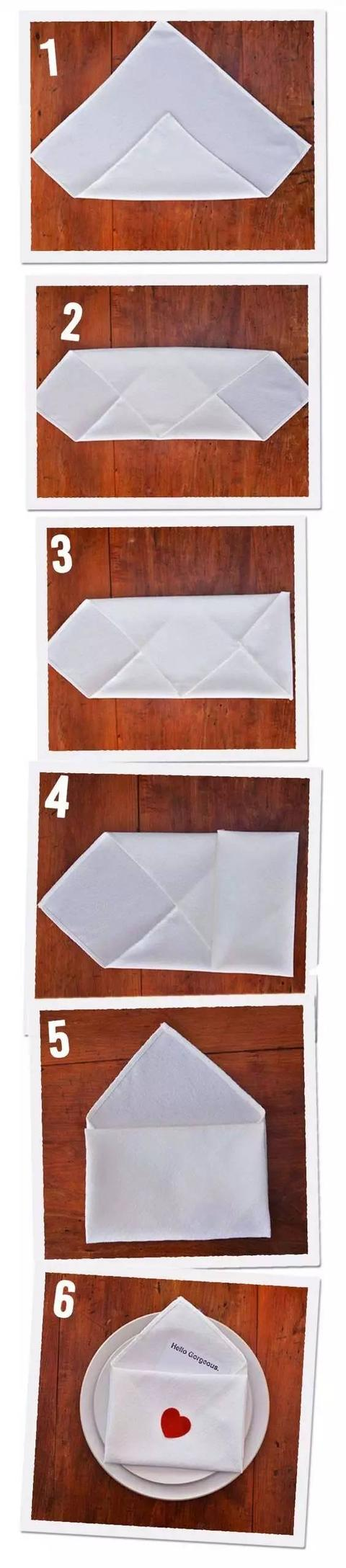 生活需要儀式感! 7款餐巾疊法,讓餐桌更具詩意