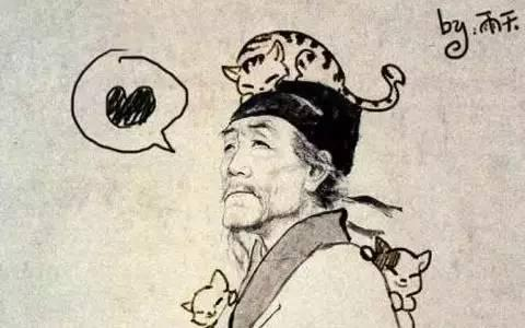 課本里的古人畫像都是從哪兒來的?