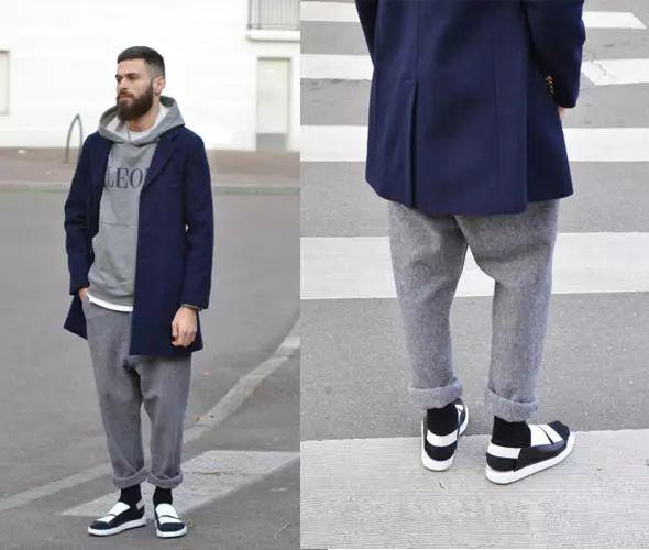 男士搭配:「短一點更時尚」穿對九分褲,讓你直接高10公分!