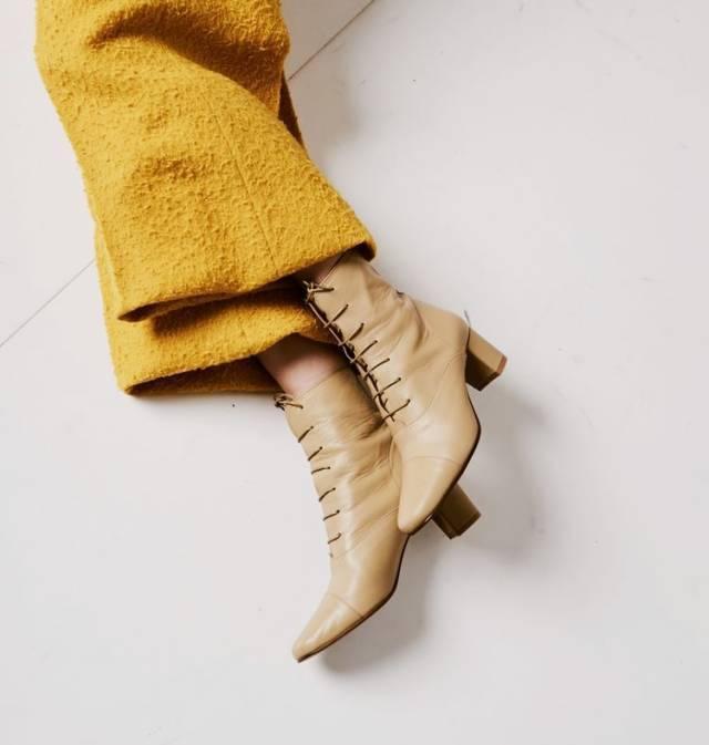 短靴這樣搭,時髦顯腿長,學會了短靴才不會白買