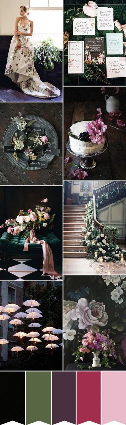 復古風潮的花嫁巧搭——這是一場花的嫁娶