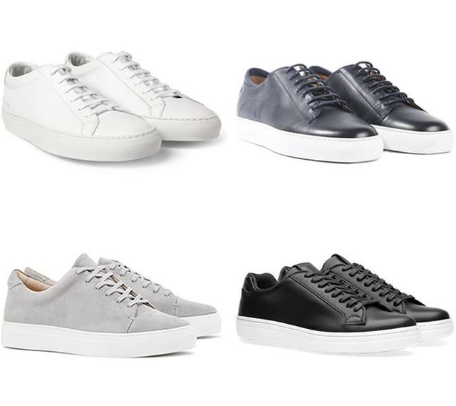 西裝搭配運動鞋的5種正確的時尚穿法