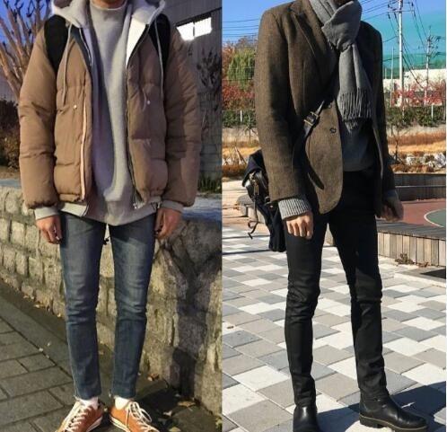 很實用的男生冬季穿搭範本,這樣的你男朋友你喜歡嗎?