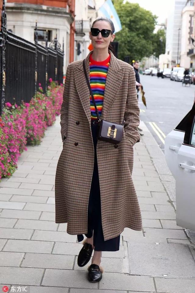 格紋大衣這麼火,到底該買哪一件?