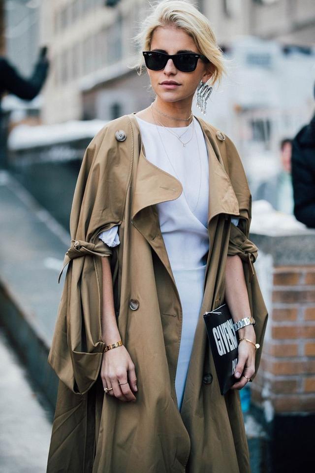 長外套+長裙的搭配是這個冬天些最美的了